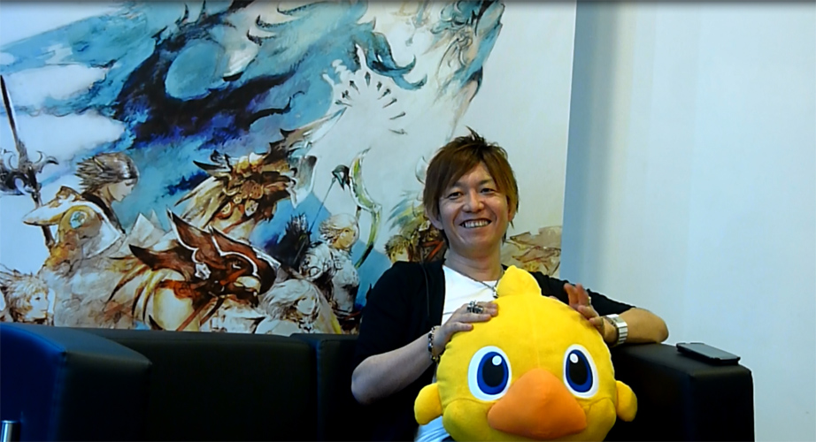 Naoki Yoshida a la japan Expo 2013