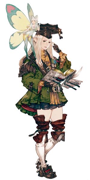 L'érudit de Final Fantasy XIV