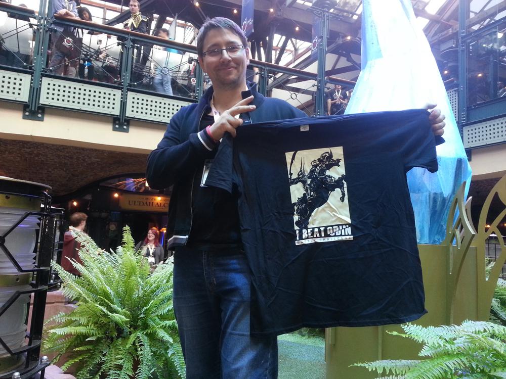 """""""I beat Odin"""" ...Seuls les meilleurs pouvaient arborer fièrement ce T-shirt !"""