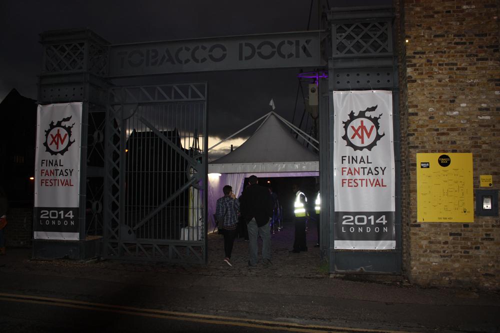 L'entrée à la soirée VIP du FFXIV Fan Festival de Londres