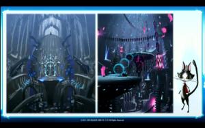 Quelques images de l'intérieur de l'arche et...un Cait Sith ?