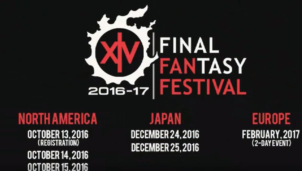 Les dates et périodes des prochains FFXIV Fan Festival