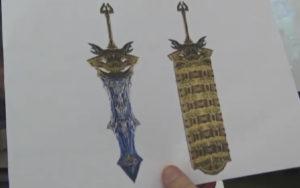Épée que l'on obtient en venant à bout du Primordial Sefirot.