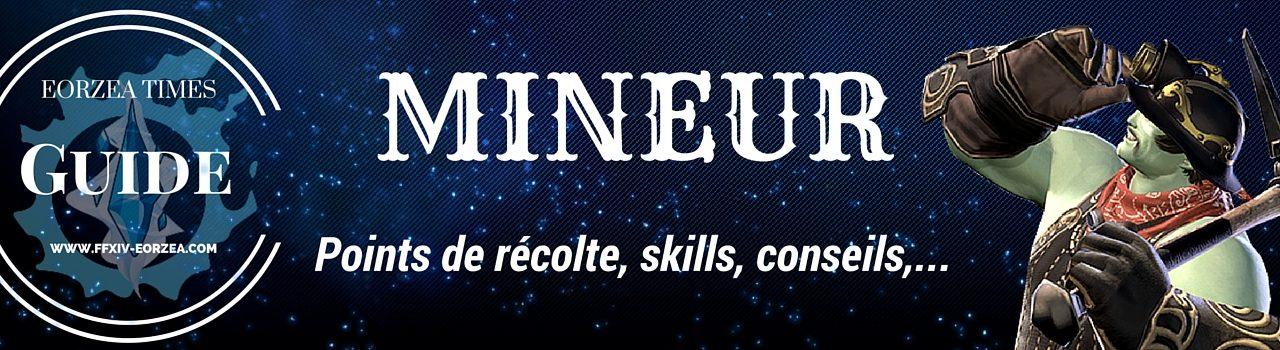 Guide de classe: Mineur