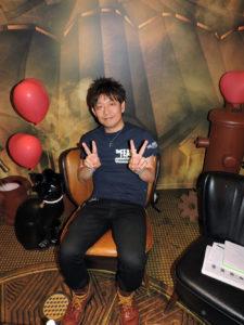 Naoki Yoshida lors de notre entretien avec lui à la Gamescom 2016