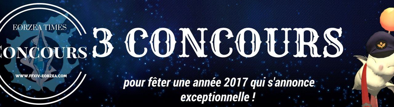 Concours spéciaux début 2017