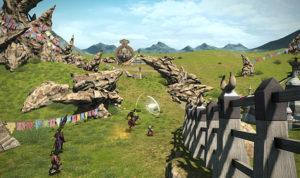 Les grandes steppes nous offrent un donjon à ciel ouvert