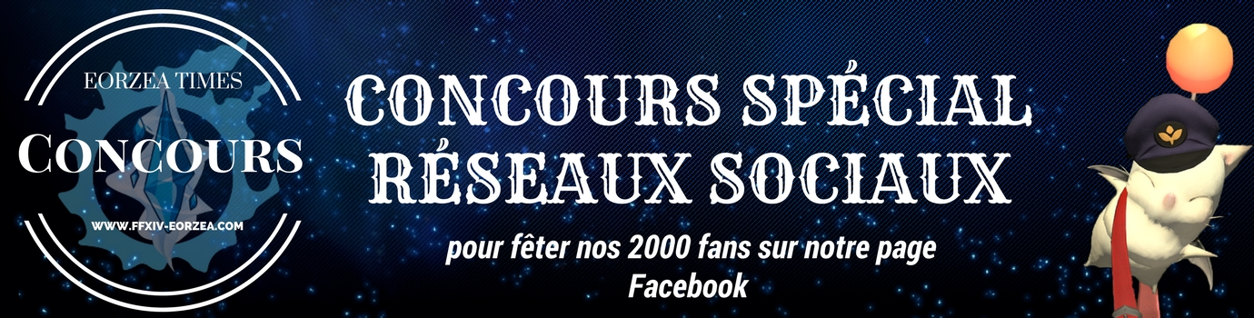 concours FFXIV pour feter nos 2000 fans Facebook