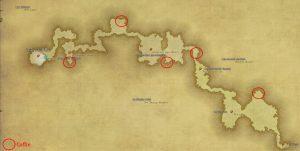 Carte des coffres - Val d'Aurum