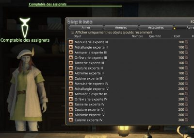 Recettes Experte III-IV-ffxiv-craft