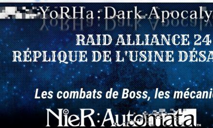 Guide raid 24 Nier Automata: Réplique de l'usine désaffectée